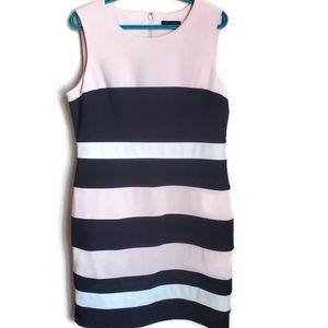 Tommy Hilfiger | Crepe Colorblock Sheath Dress